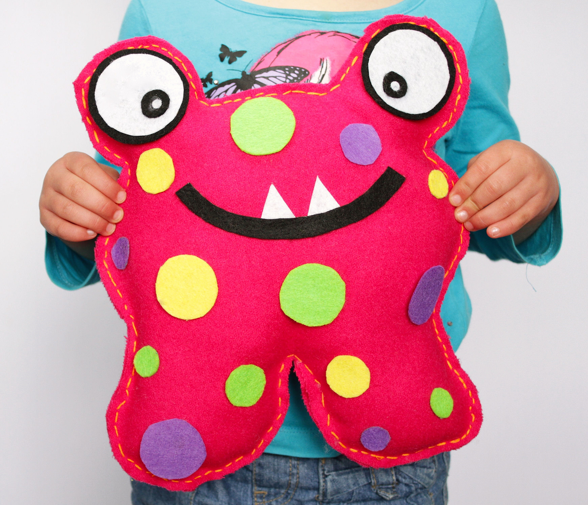 SEW-A-SOFTIE DAY-Monster