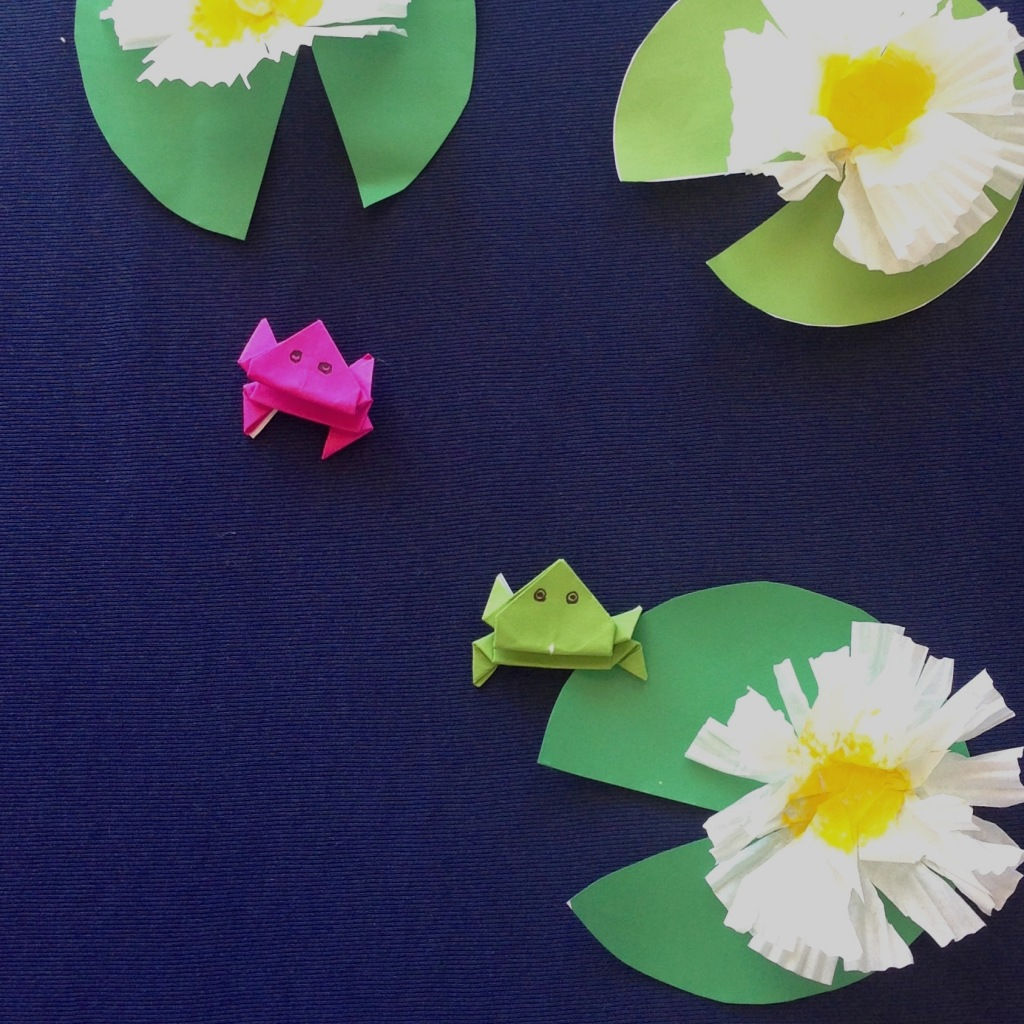 Origami Jumping Frogs – Make Film Play - photo#25