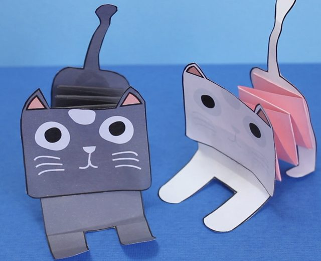 accordion-paper-cat-001